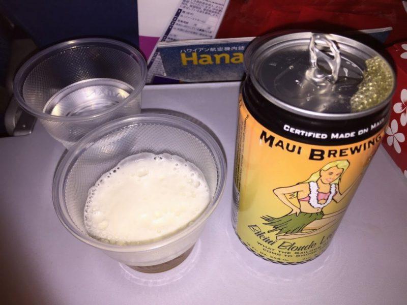 新婚旅行でハワイへ!!道中からハワイ気分になれる、ハワイアン航空搭乗記IMG_3181